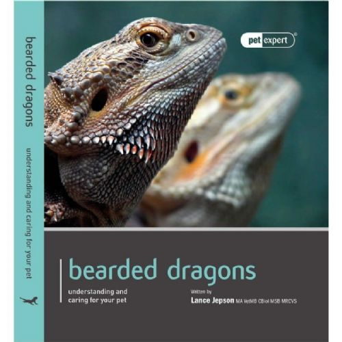 Bearded Dragon book by Pet Expert - Understanding and caring for your pet